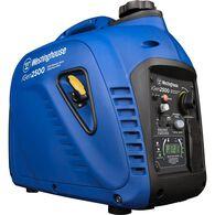 Westinghouse iGen2500 Portable Inverter Generator, 2200 Running Watts/2500 Peak Watts, Gas Powered