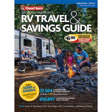 Good Sam 2017 North American RV Travel & Savings Guide, 82nd Edition