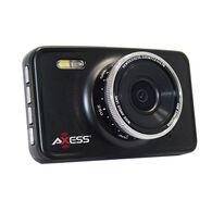 Axess Dash Camera & Car DVR with Motion, Black