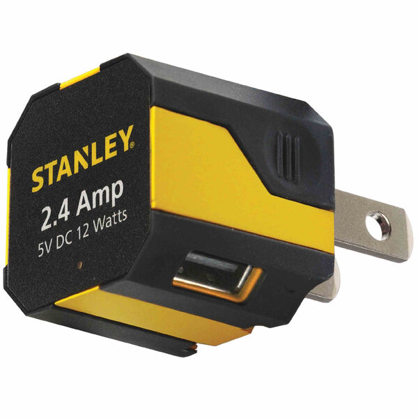 Stanley Smartangle 2-Port USB Wall Charger