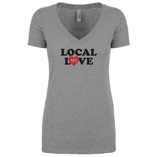 Local Yokel Women's Local Love WI Short-Sleeve Tee