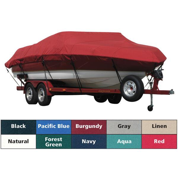 Exact Fit Covermate Sunbrella Boat Cover For TRITON SF 21 FISH & SKI w/PORT TROLLMOTOR