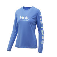 HUK Women's Icon X Long-Sleeve Tee