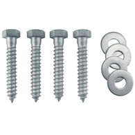 Galvanized Lag Bolt Mounting Hardware Kit