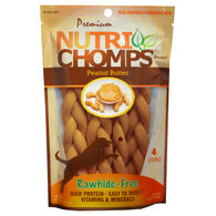 Nutri Chomps Peanut Butter Braids, 4 ct