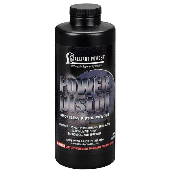 Alliant Powder Power Pistol Smokeless Powder, 9mm/.40 S&W/10mm/.357 SIG