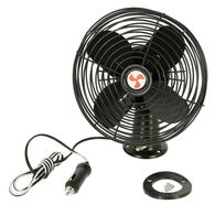Metal Blade 12-Volt Fan, Black
