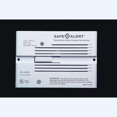 Safe-T-Alert Propane/Natural Gas Alarm - Flush Mount, White
