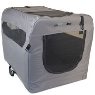 Soft Sided Portable Dog Crate, Large