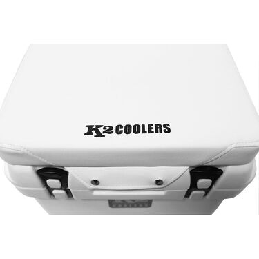 K2 Summit 30 Quart Cooler Seat Cushion, White