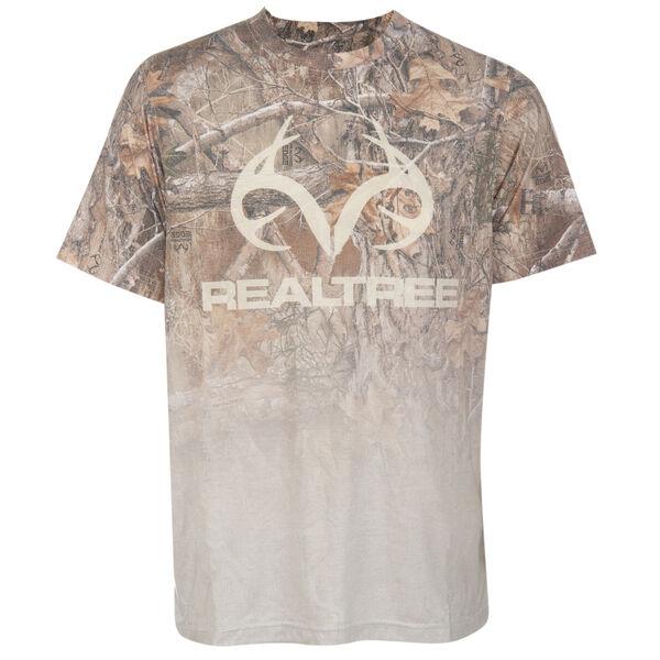 Realtree Men's Ambush Sublimation Short-Sleeve Tee