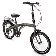 Adventurer 6-Speed Bike, Gray