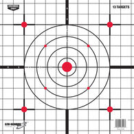 "Birchwood Casey EZE-Scorer 12"" Sight-In Paper Targets, 13-Pack"