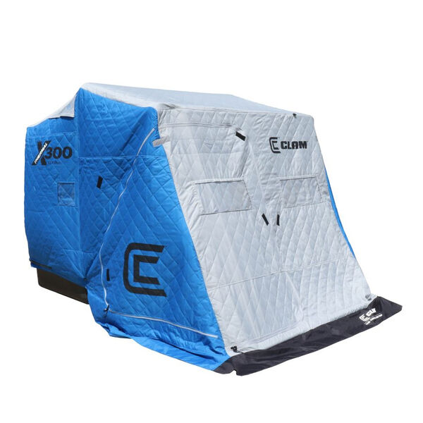 Clam Outdoors X300 Pro Thermal Three-Man Ice Fishing Shelter