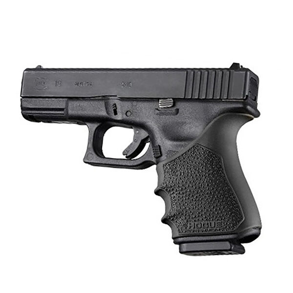 Hogue Glock 19 Gen 3/4 HandAll Beavertail Grip Sleeve, Black