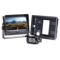 "Rear View Camera System - One Camera Setup with 7"" Flushmount Monitor"