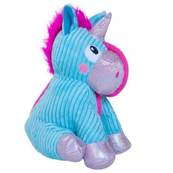 Petstages Corded Seamz Unicorn Dog Toy