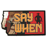Say When - Patch