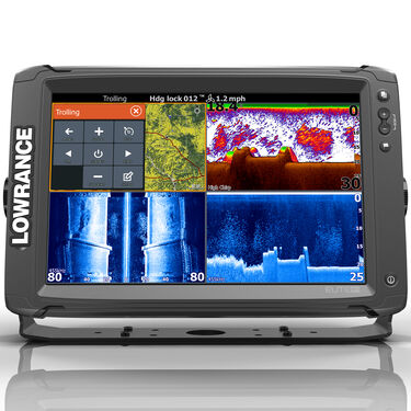 Lowrance Elite-12 Ti Touchscreen Fishfinder Chartplotter w/TotalScan Transducer