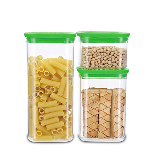6-Piece Rectangular Canister Set