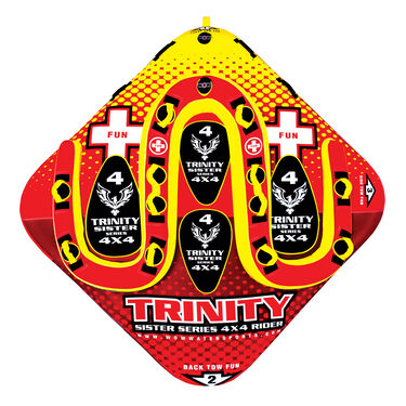WOW Trinity 4-Person Towable Tube