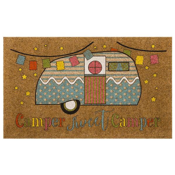 "Mohawk Home ""Camper Sweet Camper"" Doormat, 18"" x 30"""