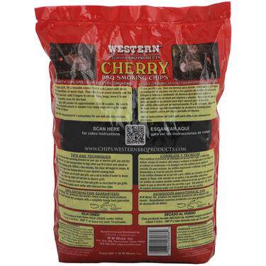 Western Cherry BBQ Wood Smoking Chips