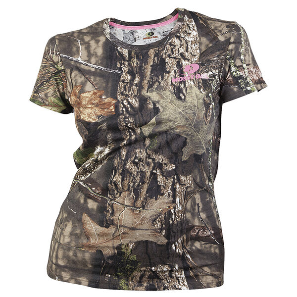 Gildan Women's Camo Short-Sleeve Tee - Mossy Oak Break-Up Country