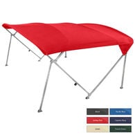 "Shademate Extra Long Big Top Pontoon Bimini Top, Sunbrella Acrylic, 1"" Frame"