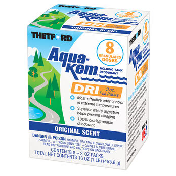 Thetford Aqua-Kem Dri - Eight 2 oz. packs