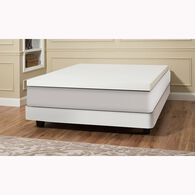 "4"" Gray Memory Foam ComboTopper"