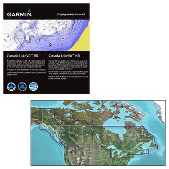 Garmin Canada LakeVu HD MicroSD/SD Card For GPSMAP Series Montana/Oregon