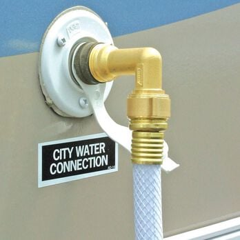 Camco 90-Degree Water Hose Entry Elbow