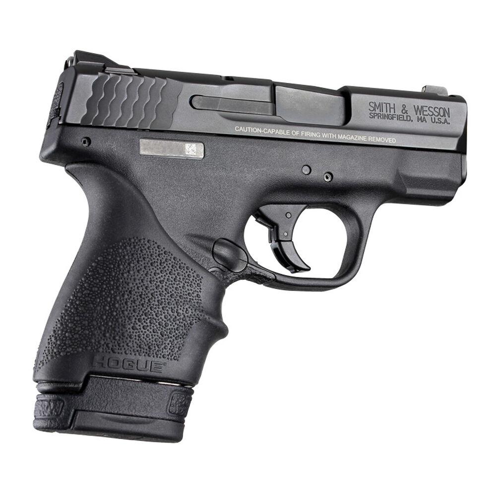 Hogue HandAll Beavertail Pistol Grip Sleeve, S&W M&P Shield/Ruger LC9, Black