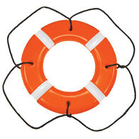Life Ring USCG/SOLAS Approved Orange 30""