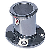 "1-1/4"" Stainless Flag Pole Socket"