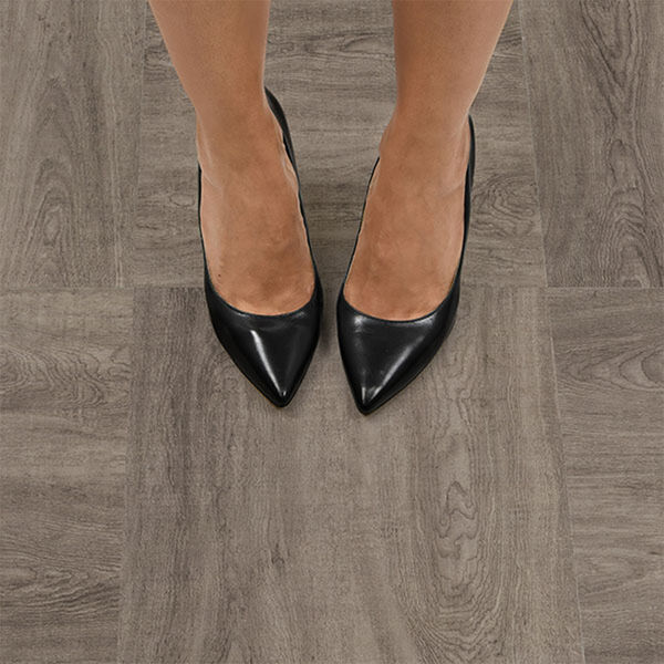 FloorPops Bungalow Peel-and-Stick Floor Tiles