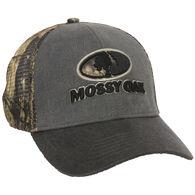 Mossy Oak Logo Stretch-Fit Cap