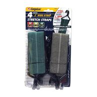Flat Wide Bungee Straps, 4-Pack