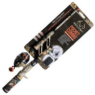 Steinhauser Telescopic Fishing Rod And Spincast Reel Combo
