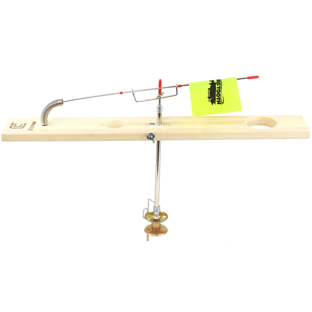 Image result for Clam Lunker Deluxe Wood Tip Up