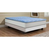 5 Zone Convoluted Full Gel Memory Foam Topper