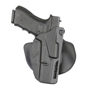 Safariland Model 7378 7TS ALS Open Top Concealment Paddle Holster, Glock 19