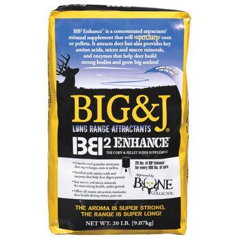 Big & J BB2 ENHANCE Corn & Pellet Super Supplement, 20-lb. Bag