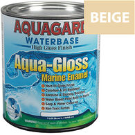 Aquagard Aqua-Gloss Waterbase Enamel, Quart, Down East Buff
