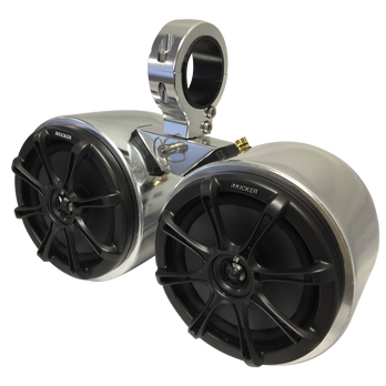 Monster Tower Kicker Double Barrel Speakers With 2 5