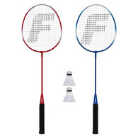 Franklin Sports 2-Player Steel Badminton Racquet Set