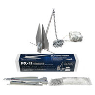 Fortress FX-11 Lightweight Aluminum Anchor Kit