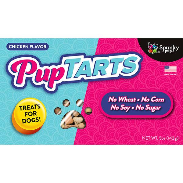 Spunky Pup PupTarts Dog Treats, Chicken Flavor, 5 oz.