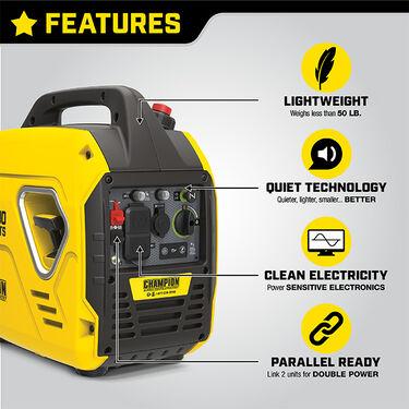 Champion 2500-Watt Portable Inverter Generator